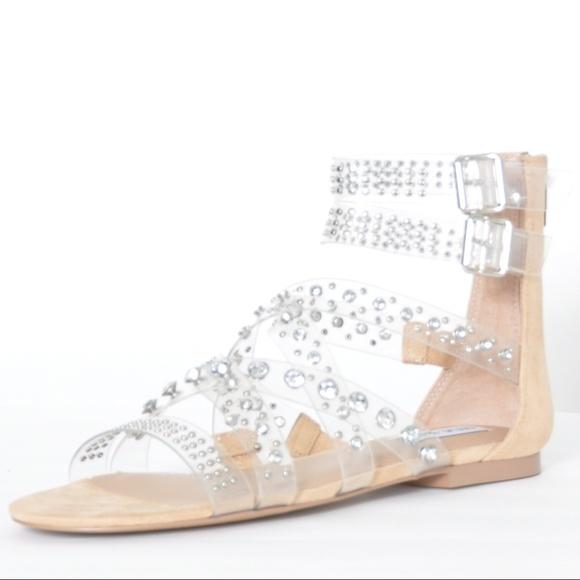 Madden ShoesShift Poshmark Steve Gladiator Sandals Clear f6yY7vbg